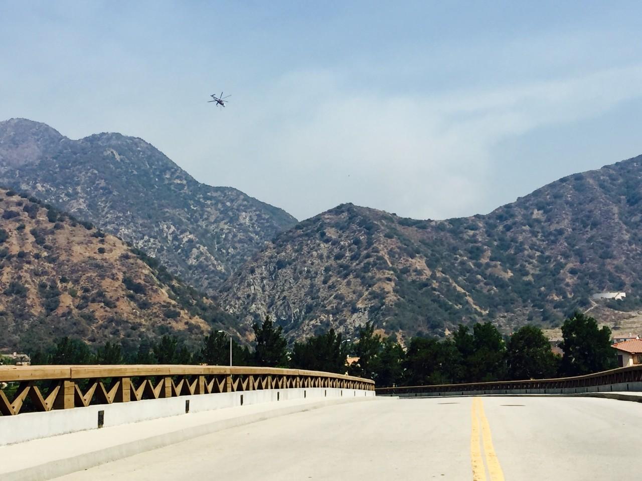 UPDATE: San Gabriel Complex Fire