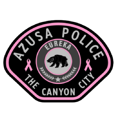 Azusa Police Department's pink patch