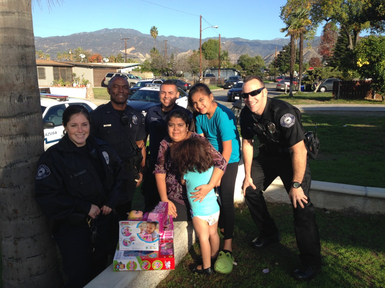 Christmas Day Shift In Azusa - It's More Than Police Calls