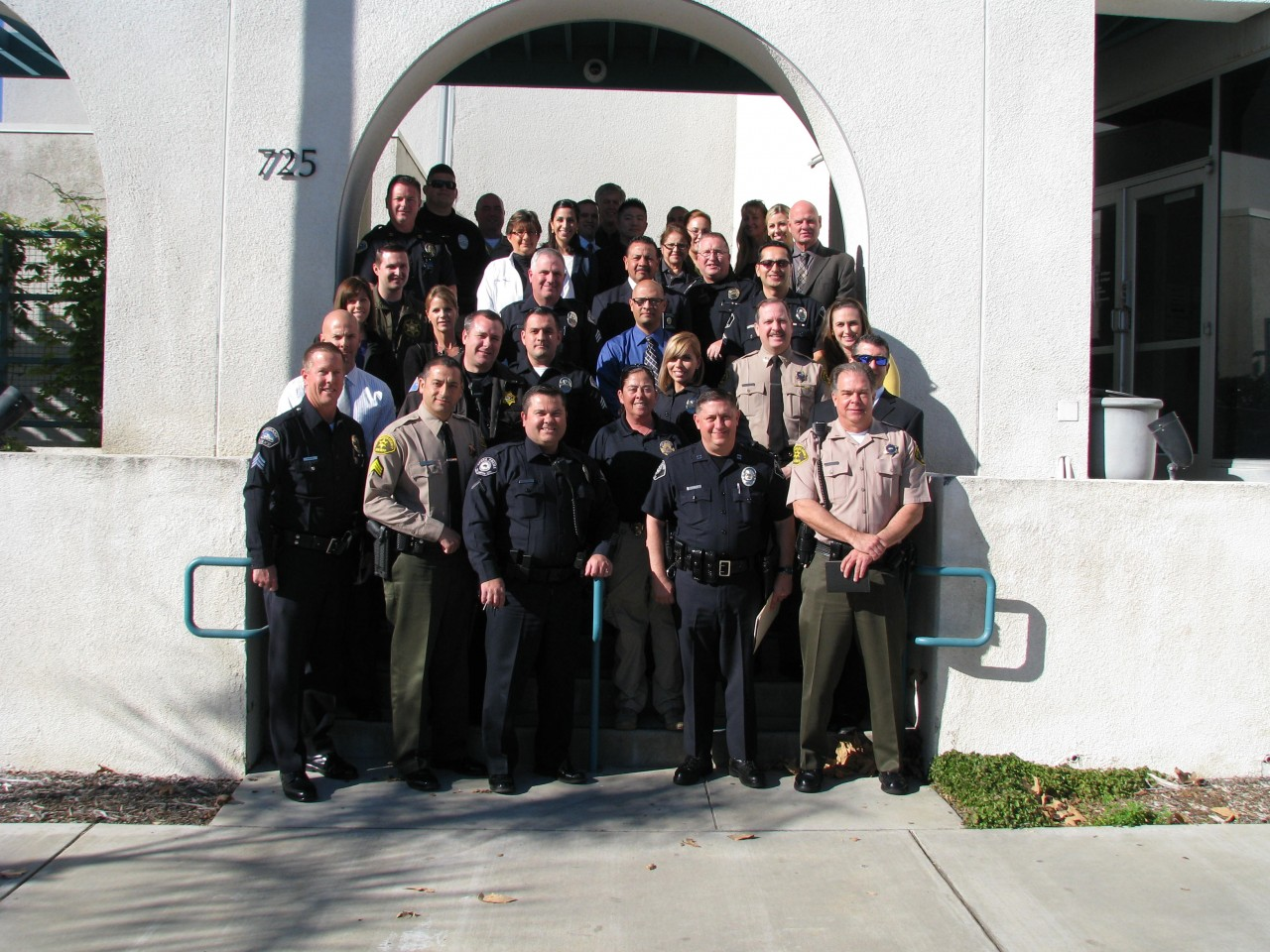 Area Law Enforcement Social Media Officers Meet At Azusa PD