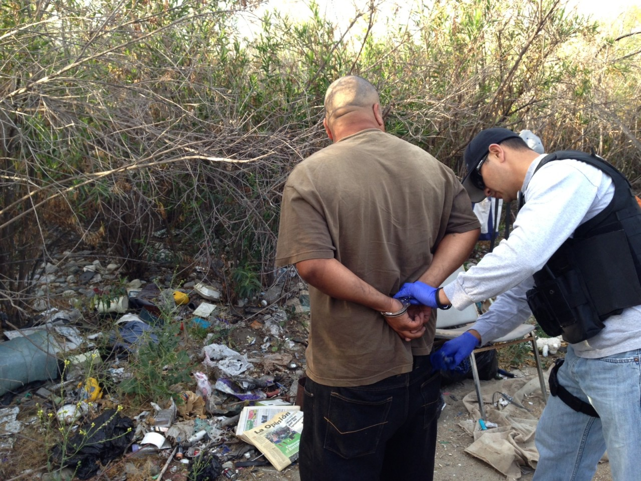 Azusa Police Conduct Second Riverbed Operation For April
