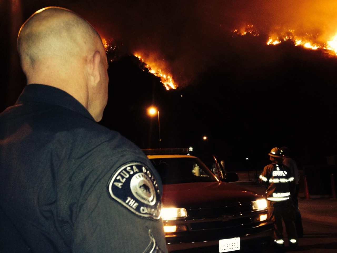 Latest Update From The Azusa PD On The Colby Fire
